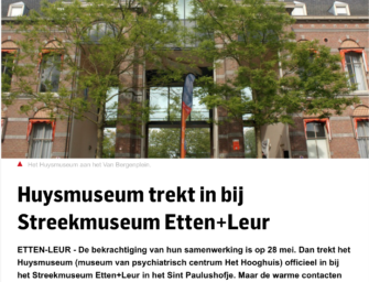 Huysmuseum in BN/De Stem